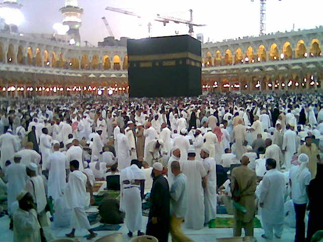 At the Kaaba