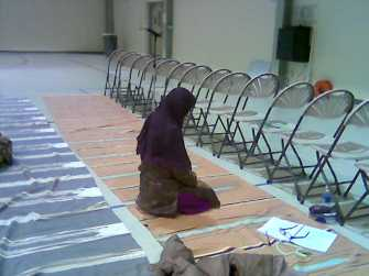 A sister in Dhikr long after everyone left