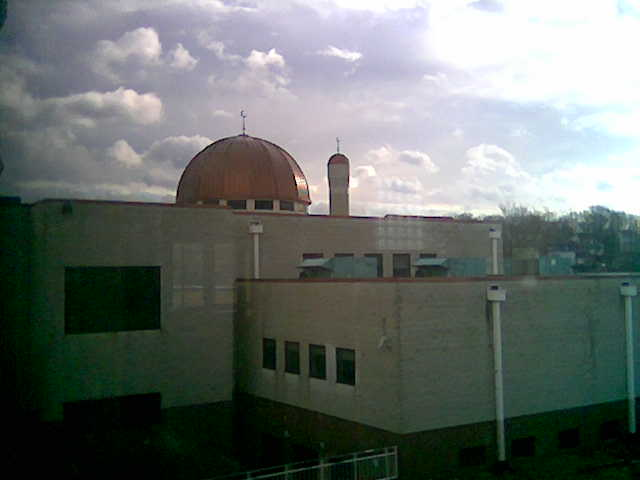 The Mosque from the second floor of gym