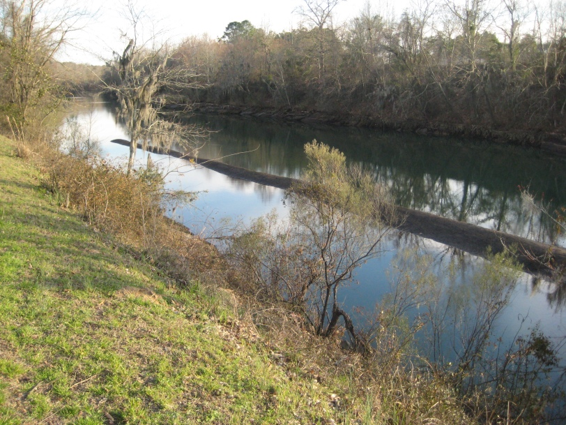 Lowest water level in the canal in 25 years