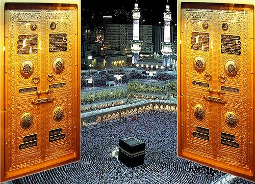 kaaba- entering the masjid al haraam