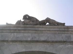 Spain • Valley of the Fallen • Measures 18 feet from top of Mary to Bottom of Jesus