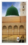 madinah green dome