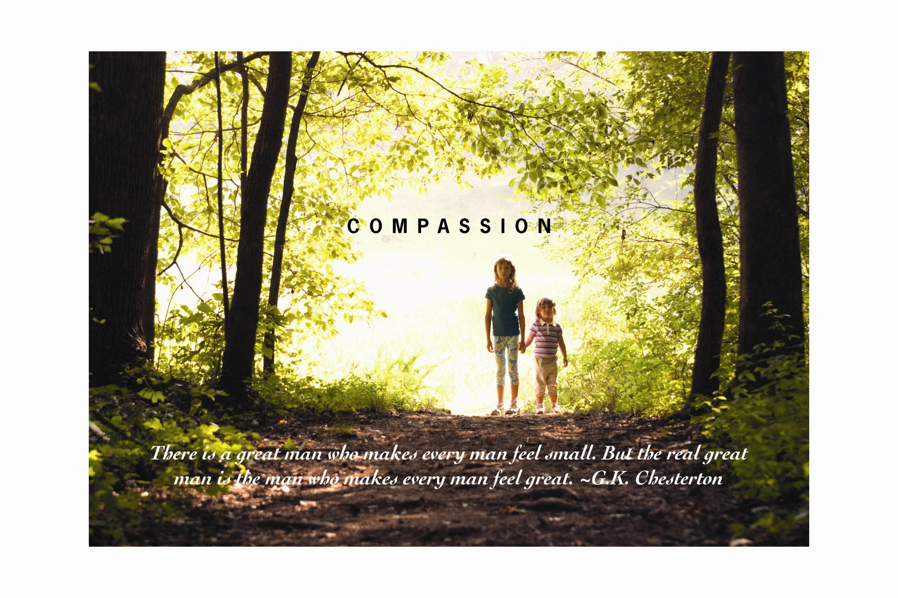 LOOKING AT LIFE………..WITH COMPASSION | Siraat-e-Mustaqeem
