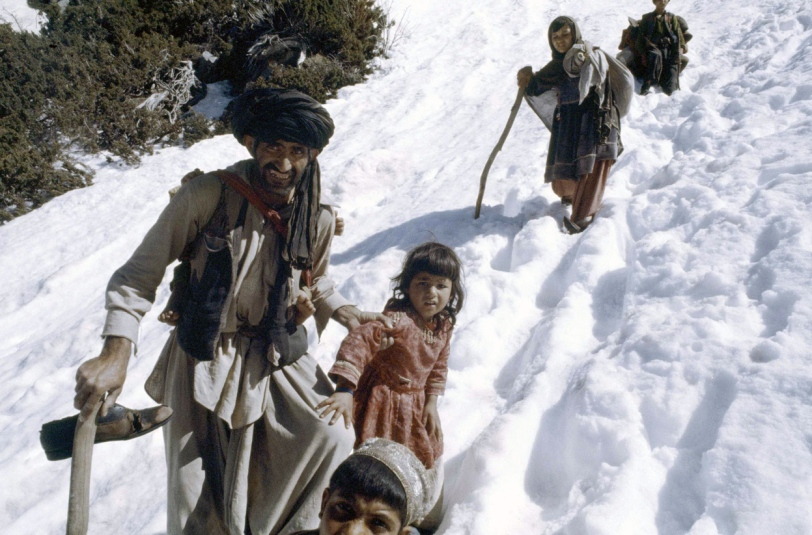 afghan refugees from the soviet war