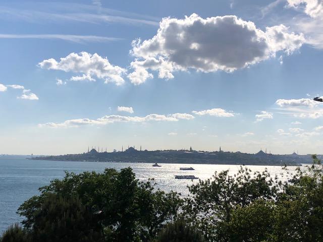 Sunlit Bosphorus, after Dhuhr